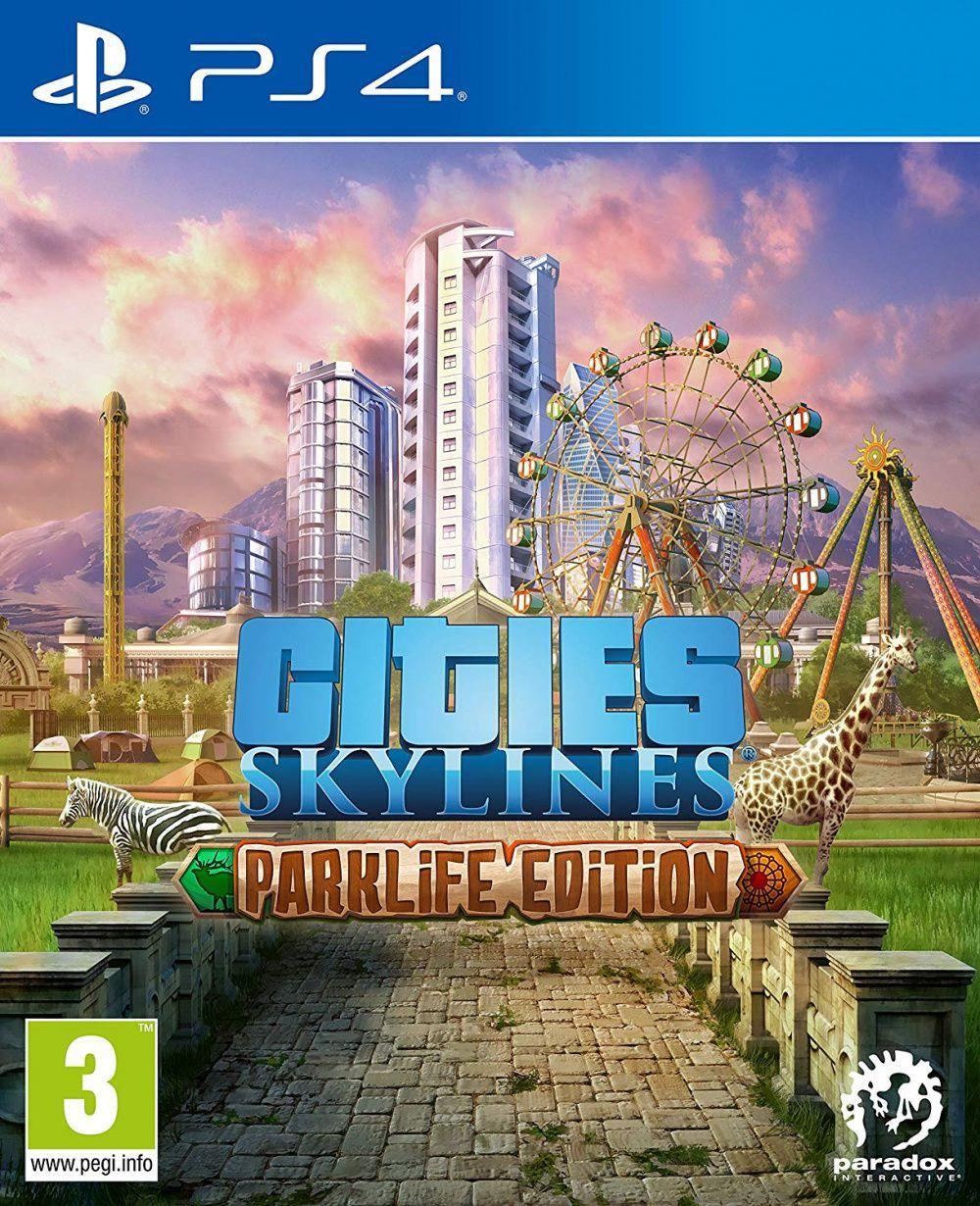 Cities Skylines Parklife Edition (російські субтитри) PS4