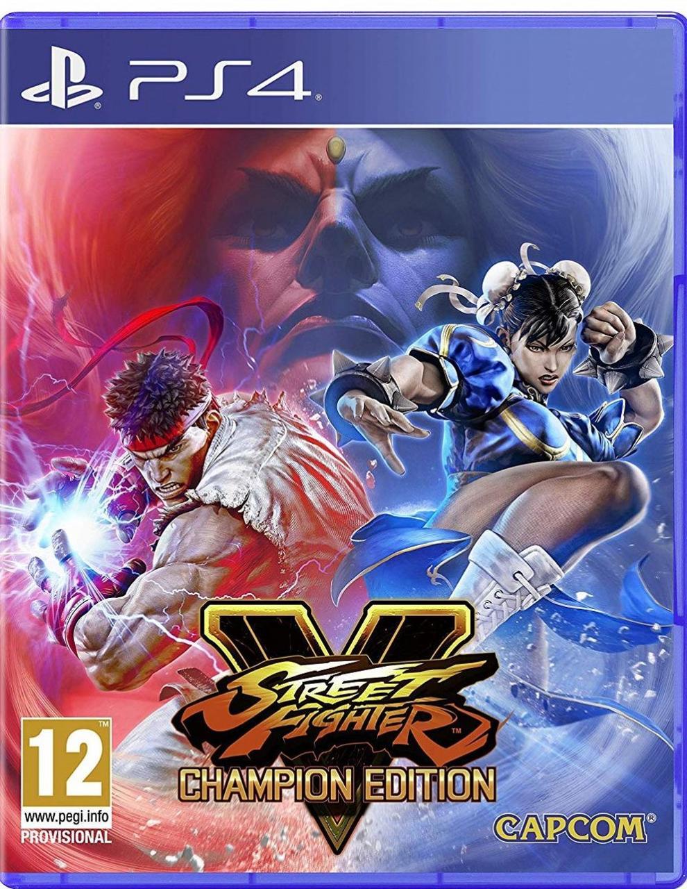 Street Fighter V: Champion Edition (русские субтитры) PS4