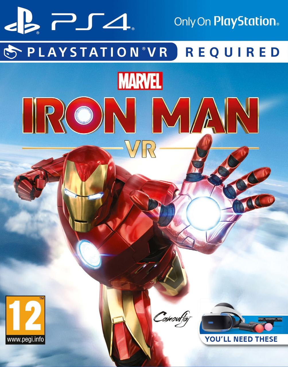 Marvel's Iron Man VR (російська версія) PS4