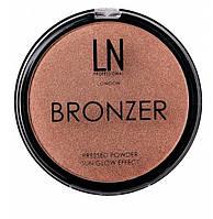Бронзер-хайлайтер для лица LN Bronzer, 101
