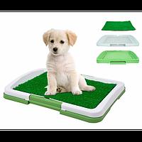 Туалет Puppy Potty Pad коврик-лоток для домашних животных домашний туалет для кошек собак 3 уровня