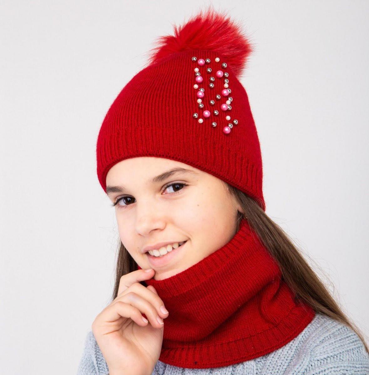 Модний комплект для дівчинки на зиму - Артикул 2392