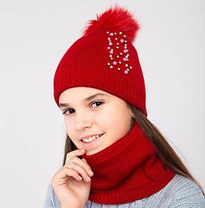Модний комплект для дівчинки на зиму оптом- Артикул 2392