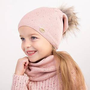Стильний комплект для дівчинки на зиму оптом- Артикул 2393