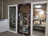 Зеркало с лампами в полный рост для дома и салонов красоты 1800*700, фото 3