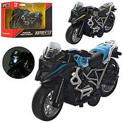 Мотоцикл AS-2641 АвтоСвіт,металл, 2 цвета