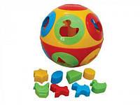 """Игрушка """"Умный малыш Шар 1 ТехноК"""", Технок, игрушки для малышей,сотер,деревянные игрушки"""