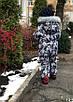 Зимний комбинезон  на флисе  Водоотталкивающий  Мишка, фото 2
