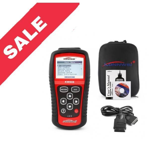 Автомобільний діагностичний сканер-адаптер OBD II/E OBD KW808