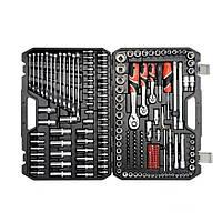 Профессиональный набор инструментов 1/4, 3/8, 1/2 216 эл. Yato YT-38841
