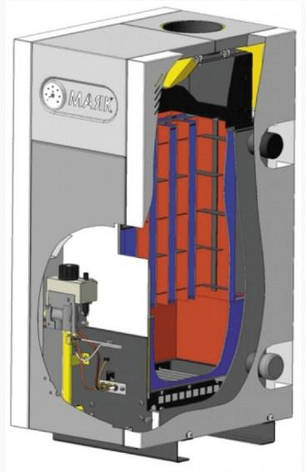 Газовый котел Маяк АОГВ-16 КСВ, фото 2