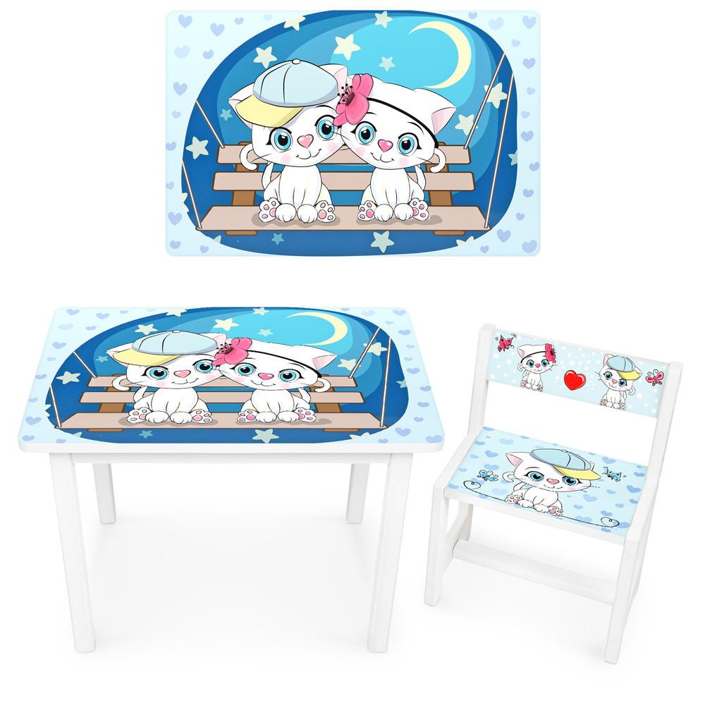 Детский столик BSM1-25 Котята под звёздным небом