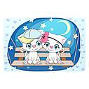 Детский столик BSM1-25 Котята под звёздным небом, фото 4