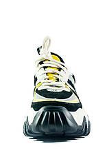 Кроссовки демисезон женские Loris Bottega 320-1 черно-белые (36), фото 2