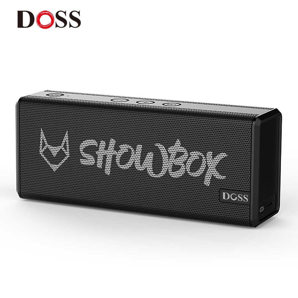 Беспроводная колонка DOSS SHOWBOX Black