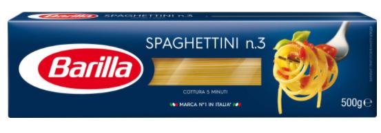 Спагетти Barilla Spaghettini n3 500 г