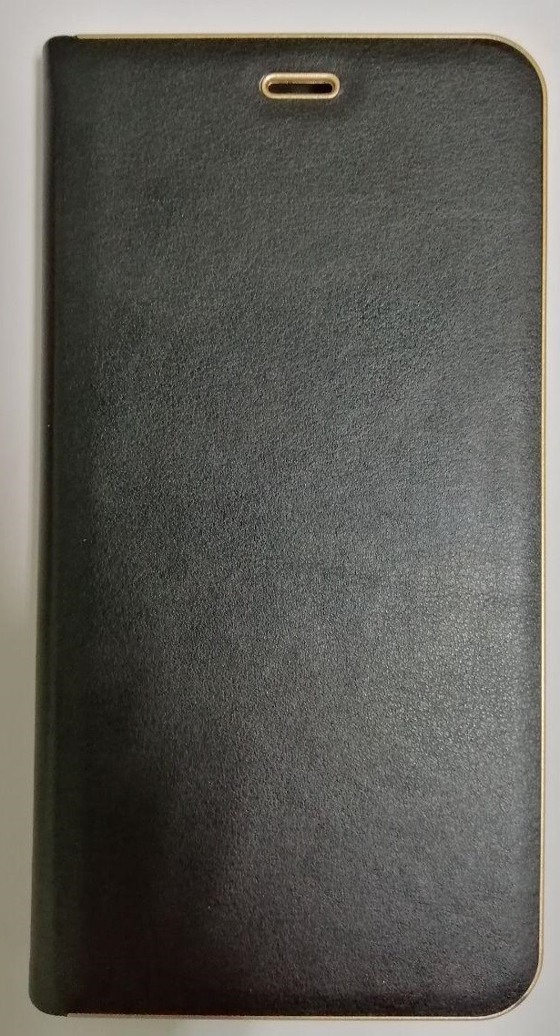 Чехол-книжка Huawei P Smart Black leather Florence
