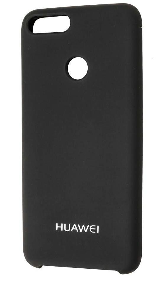 Силикон Huawei P Smart Black Soft Touch