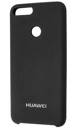 Силикон Huawei P Smart Black Soft Touch, фото 2