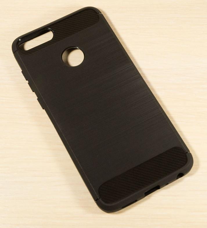 Силикон Huawei P Smart Black TPU