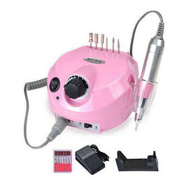 Машинка для манікюру і педикюру фрезер Beauty nail DM-202 Рожевий (sp_3690)