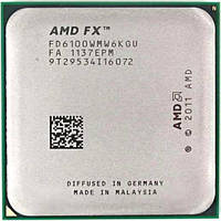 Процессор AMD FX-6100 3.3GHz (FD6100WMW6KGU / FD6100WMGUSBX) Socket AM3+ 95W