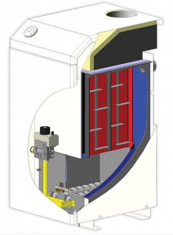 Газовий котел Маяк АОГВ-30 КСВС. Безкоштовна доставка!, фото 2