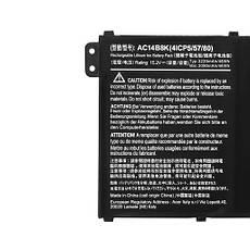 Оригинальная батарея для ноутбука Acer Aspire V3-111P, V3-112P, V3-331, V3-371, V3-372 - AC14B8K - АКБ, фото 3