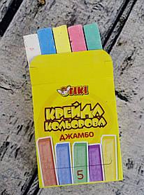Мел Джамбо 5 цв. 51514-ТК 84611 Tiki