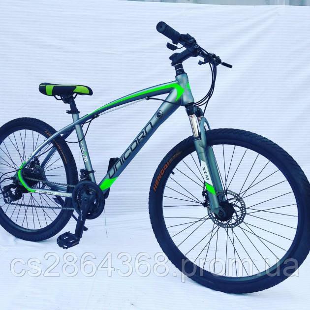 "Велосипед Unicorn Thunder 17""/29"" Grey/Green"