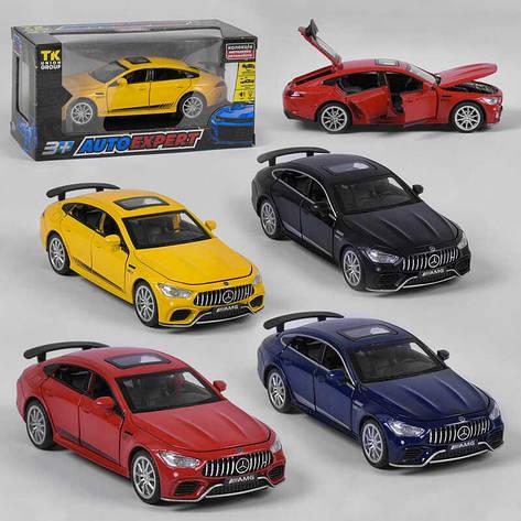 """Машина VB 32503 - 63006 (72)  """"Auto Expert"""", 4 цвета, инерция, свет, звук, открываются двери, в коробке, фото 2"""