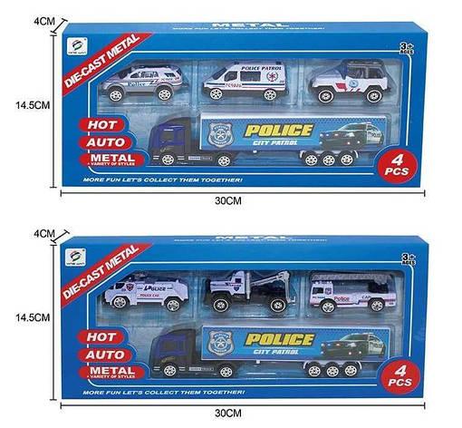 Набор машин 8532 A/8532 C/8532 D (144/2) 2 вида, в коробке, фото 2
