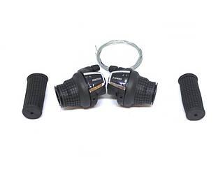 Манетки грипшифтерные Saiguan KDSG-35 3/7 ск. Черные
