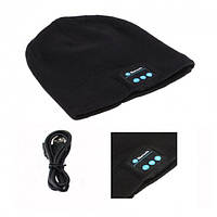 Шапка с наушниками Bluetooth Music Hat Черная
