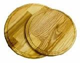 Доска 420*20мм круглая с канавкой Кедр