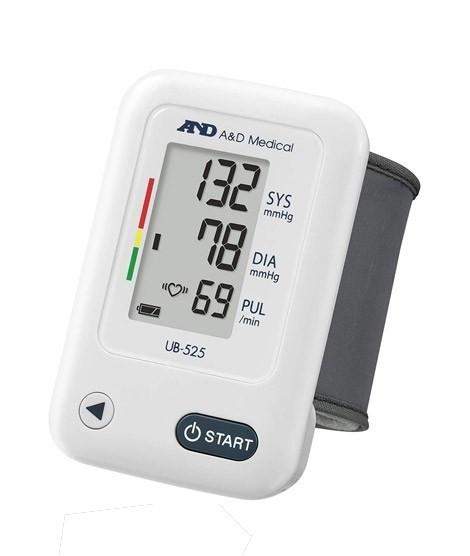 Тонометр автоматический на запястье AND UB-525 с индикатором аритмии, Япония