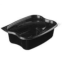 ПР-ЛГ-1000 Контейнер черный с крышкой (360 шт в ящике) 010200087, фото 1