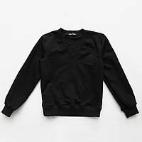 Джемпер (свитер) черный для мальчика SmileTime Scholar