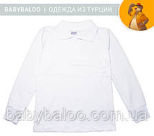 Рубашка Поло для мальчика длинный рукав(от 10 до 13 лет)