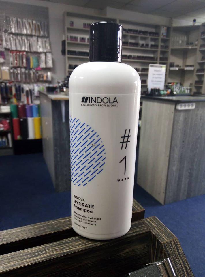 Шампунь для зволоження волосся - Indola Innova Hydrate 300ml Shampoo