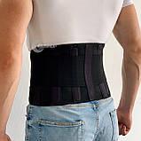 Лікувальний пояс-ортез для фіксації попереково-крижового відділу спини, Розміри в описі, фото 9