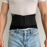 Лікувальний пояс-ортез для фіксації попереково-крижового відділу спини, Розміри в описі, фото 4