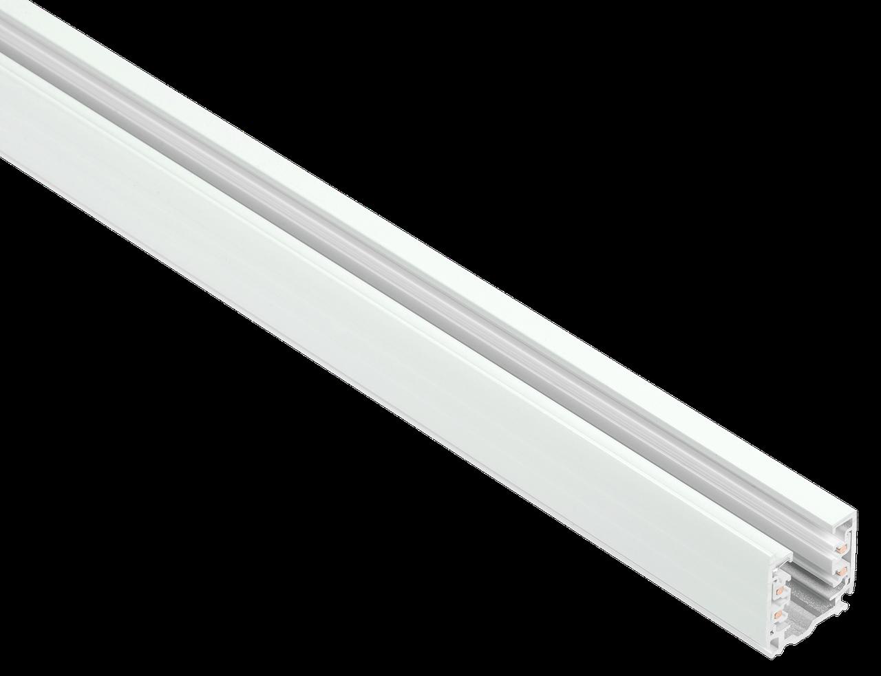 Шинопровод осветительный трехфазный 4м белый IEK