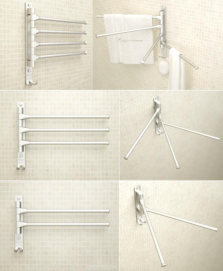 Вешалка для полотенец  в ванную комнату. Модель RD-9206