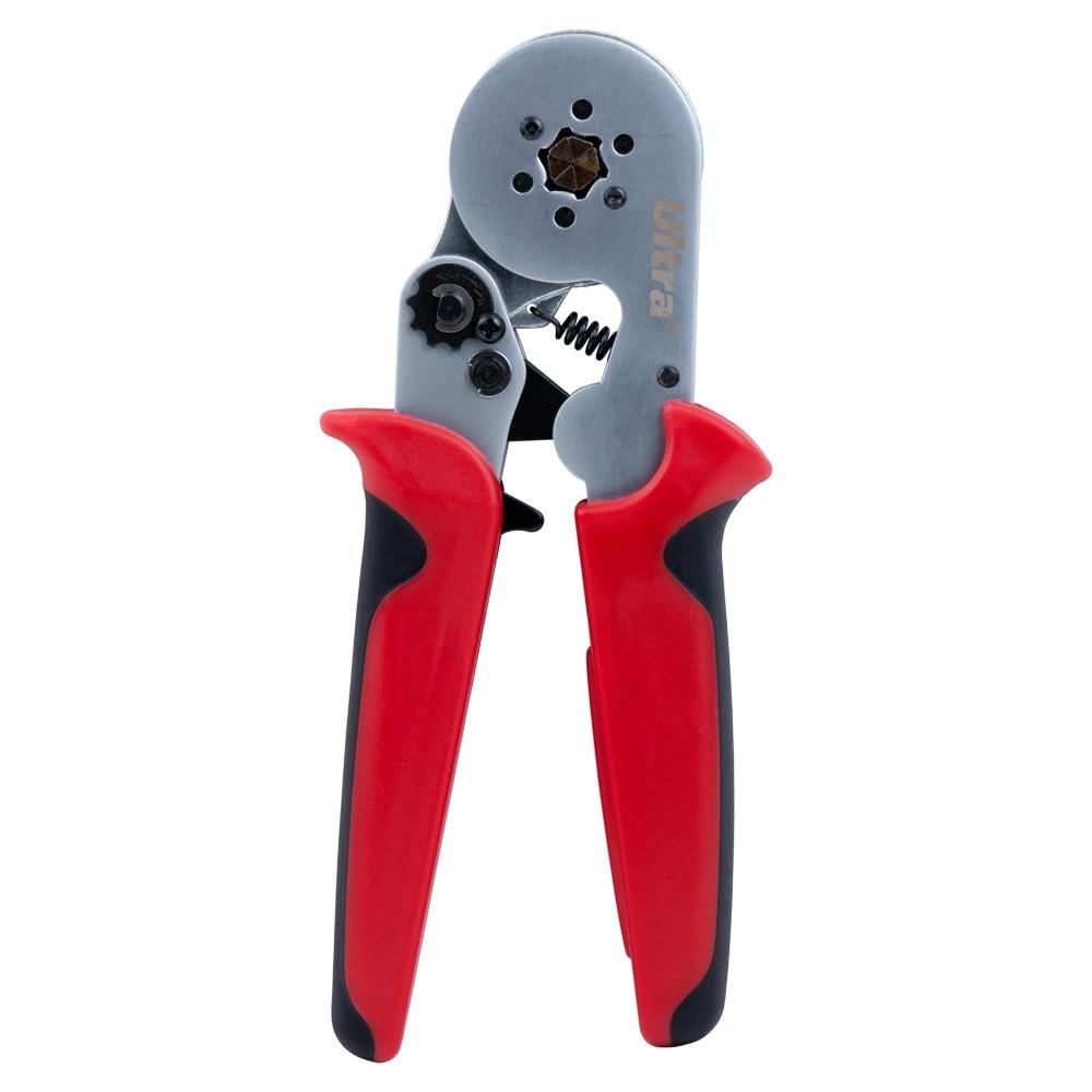 Клещи для опрессовки трубчатых наконечников 0,2-6мм кв (шестигранник) ULTRA (4372122)