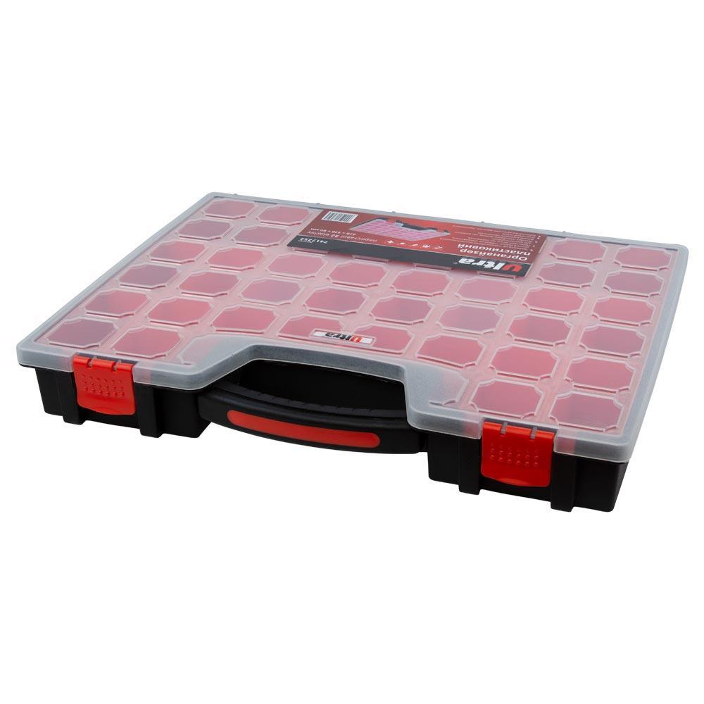 Органайзер Пластиковый Переставные 22 Отсека 410*330*60Мм Ultra