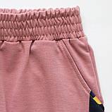 Штаны спортивные укороченные для девочки SmileTime Likee, лиловый, фото 5