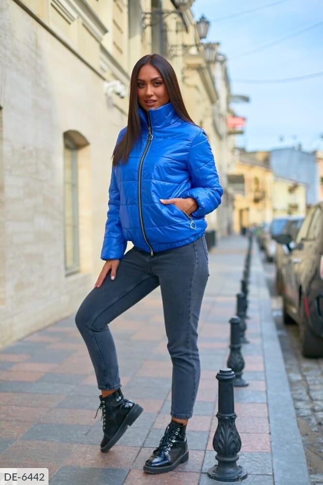 Жіноча демісезонна курточка на синтепоні 100