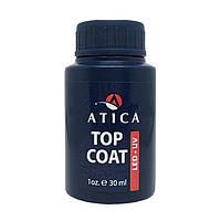 Топ Atica Soak Off Top Coat, 30ml