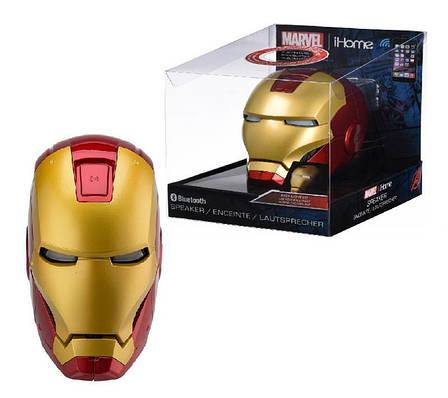 Портативна колонка безпровідна eKids iHome Marvel Iron Man (VI-B72IM.UFMV6), фото 2